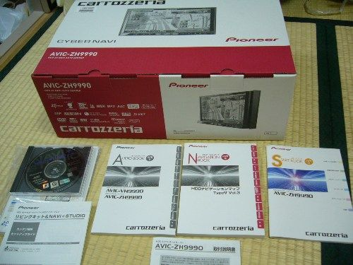 サイバーナビAVIC-ZH9990を購入!