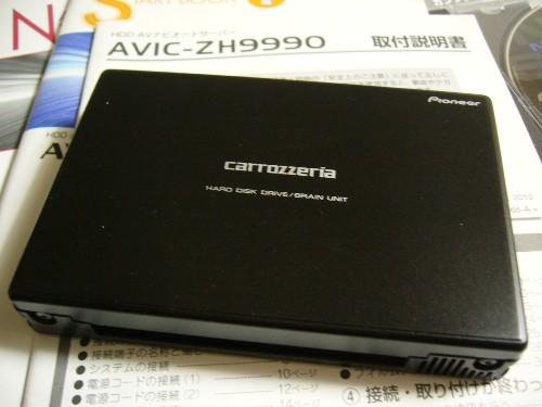 カーナビから取り出したHDDユニット