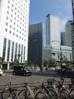 超高層ビルが立ち並ぶ、名古屋