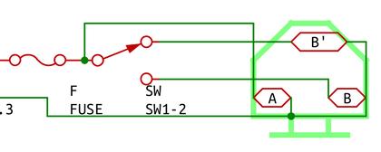 謎の配線図