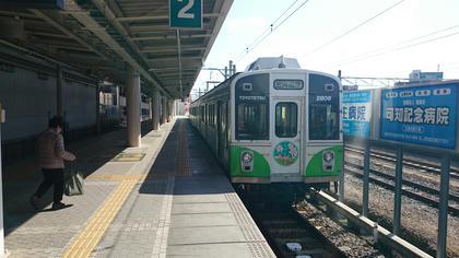 豊鉄渥美線 この編成は中間車がある。