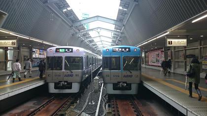 吉祥寺駅にて