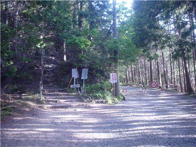 1回目の林道