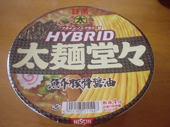 太麺堂々 魚介豚骨醤油味