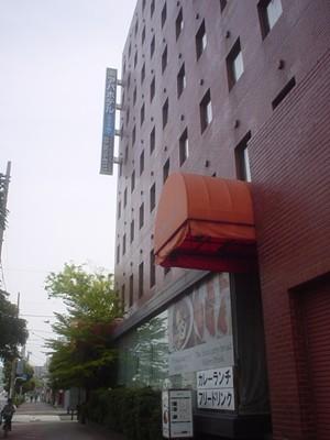 アパホテル東京木場 正面