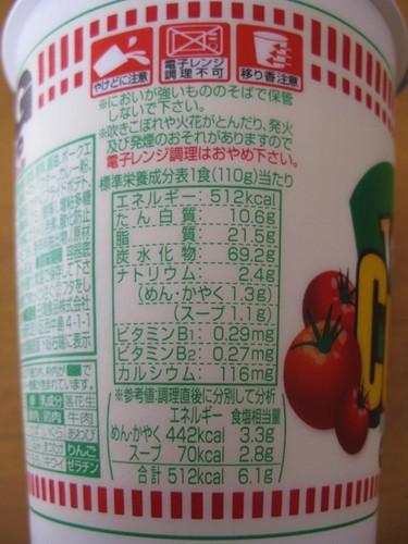 標準栄養成分表