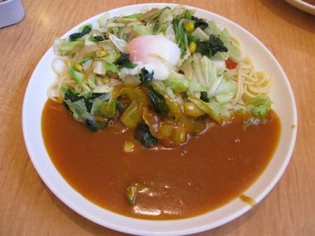 よくばり野菜(Mサイズ)+半熟玉子