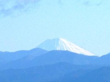 富士山遥拝所から見た富士山(望遠)