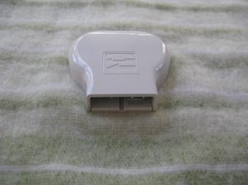 パナソニック 電気敷き毛布(シングル) DB-K27M-G コネクタ