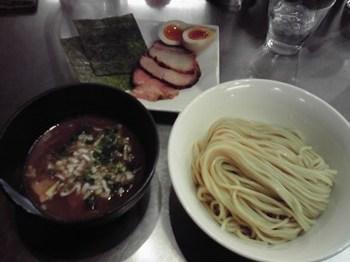 特製つけ麺 醤油味 980円