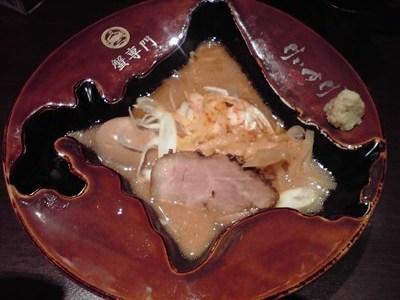 蟹専門けいすけの渡り蟹味噌ラーメン(玉子入り)