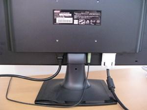 I-O DATA MF225XBR 背面