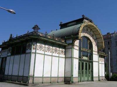カールスプラッツ駅1