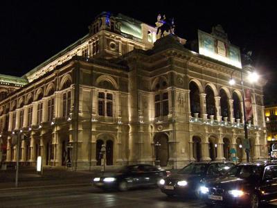 オペラ座夜景