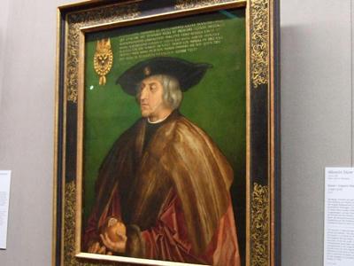 マクシミリアン1世の肖像