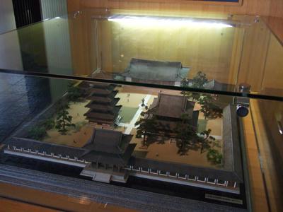 法隆寺模型