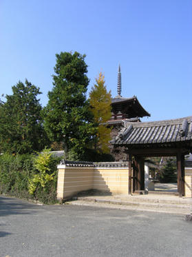 法輪寺入り口