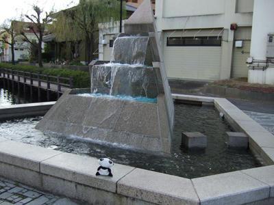 湧水モニュメント