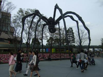 大蜘蛛が!