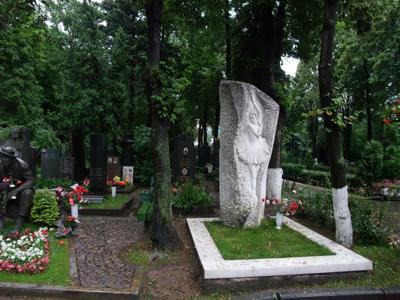 バレリーナのお墓