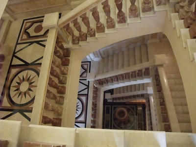エカテリーナ離宮内部階段