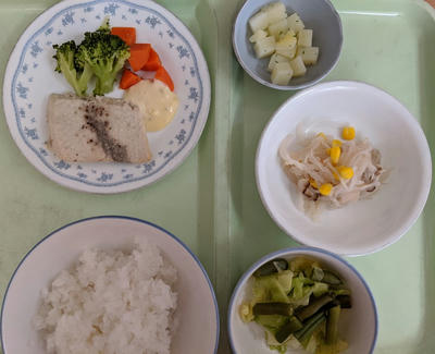 入院4日目の昼食