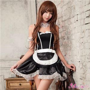 黒のメイド服 コスプレ z985 黒