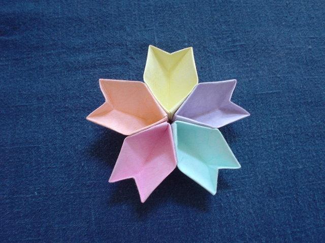 すべての折り紙 折り紙難しいやつ : 折り紙で作る小物入れ7選 | iemo ...