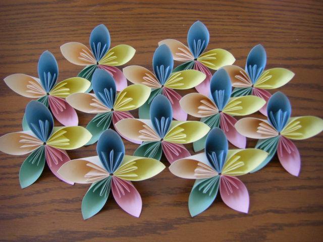 ハート 折り紙 折り紙 花のくす玉 : divulgando.net