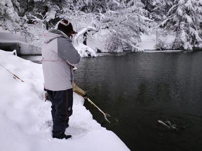 管釣り 庄原
