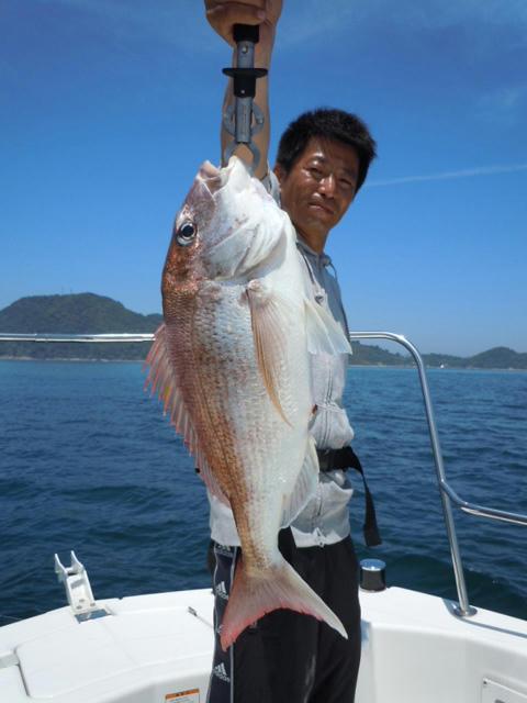 マダイ 鯛ラバ 松山沖