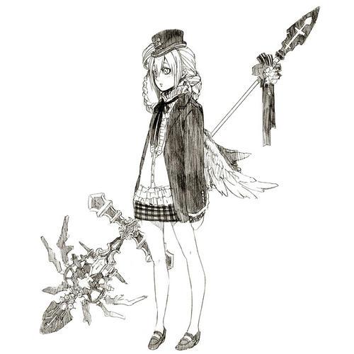 リディアちゃん(白タイツ装備)