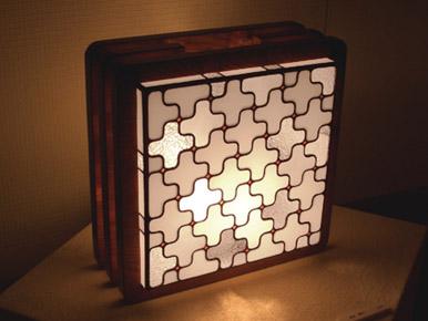 十字模様ランプ12