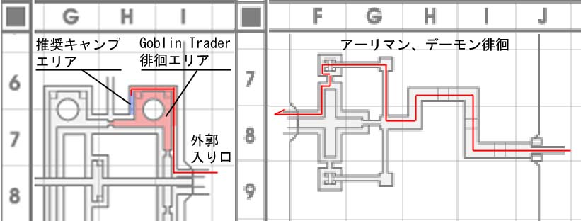 ズヴァール外郭MAP