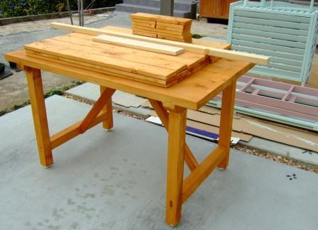 什器テーブル