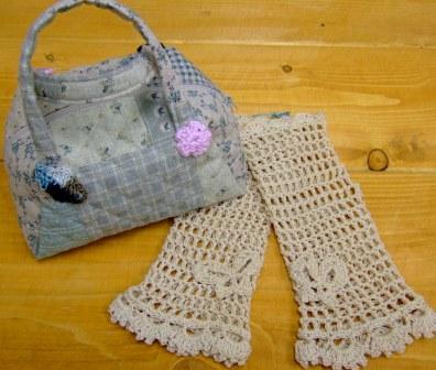 ミニミニボストンバッグ&手袋