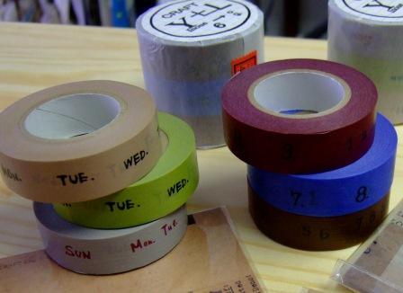 新作マスキングテープ
