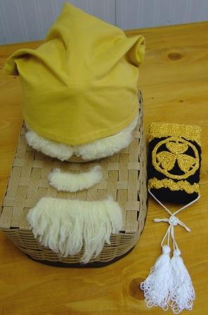 頭巾&印籠
