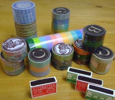 マスキングテープ&マッチ箱