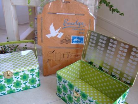 ピクニック缶&封筒テンプレート