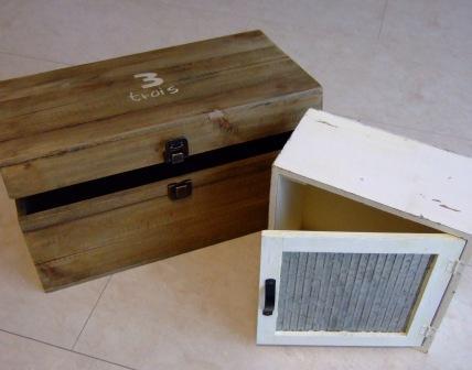 木箱&キーボックス