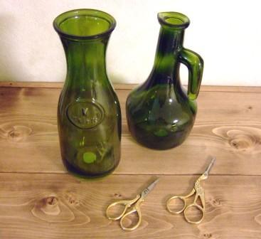 グラス&ボトル&シザー