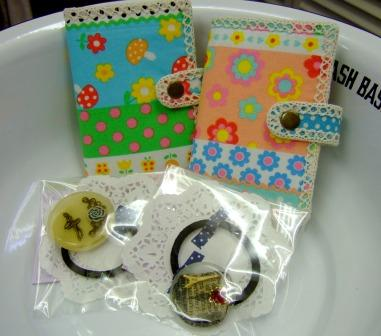 カードケース&樹脂ヘアゴム