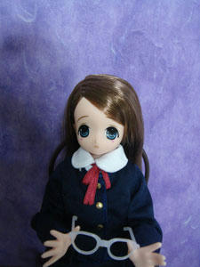 anniv-chiika(近眼だから授業のときはメガネって設定も良いかも)
