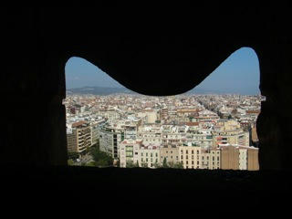 サグラダファミリア(窓)