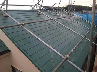 屋根塗装after