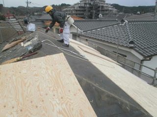 青梅市 屋根改修工事