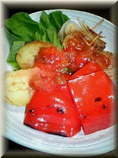 焼き野菜のサルサソース