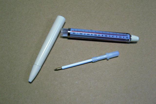 ビームス体温計ボールペン4