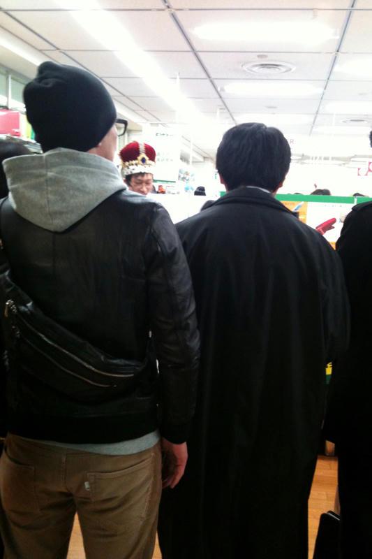 文具王の店頭実演20110129